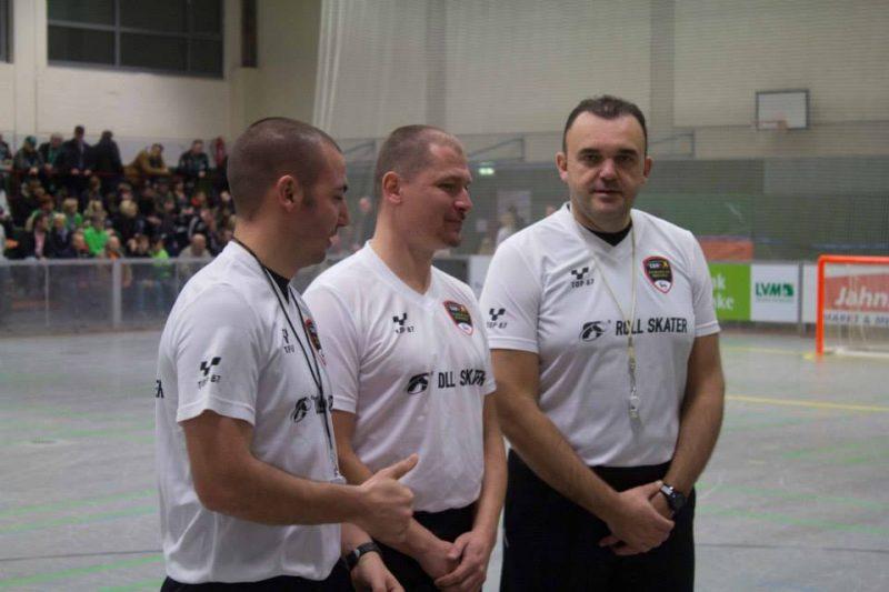 Rollhockey Schiedsrichter international