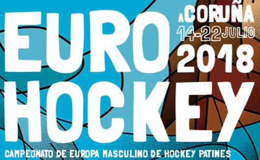 Plakat Rollhockey Europameisterschaft