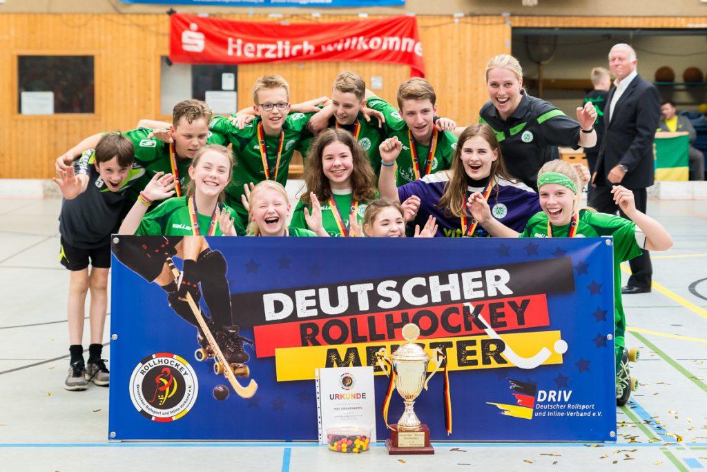 Deutscher Rollhockey U15 Meister 2018