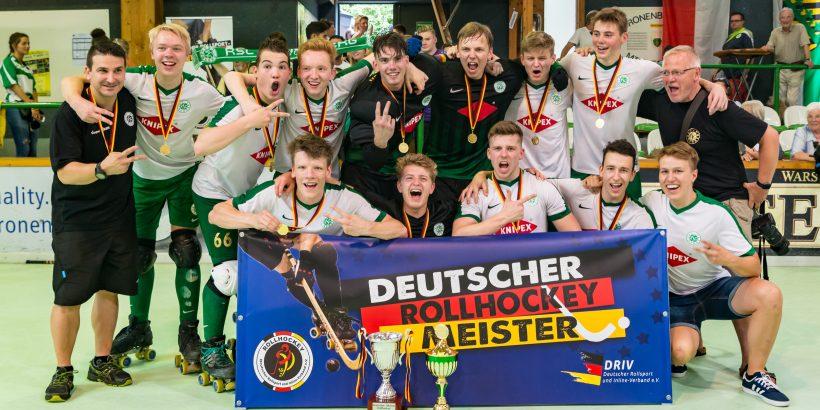 Deutscher Rollhockey U20 Meister 2018