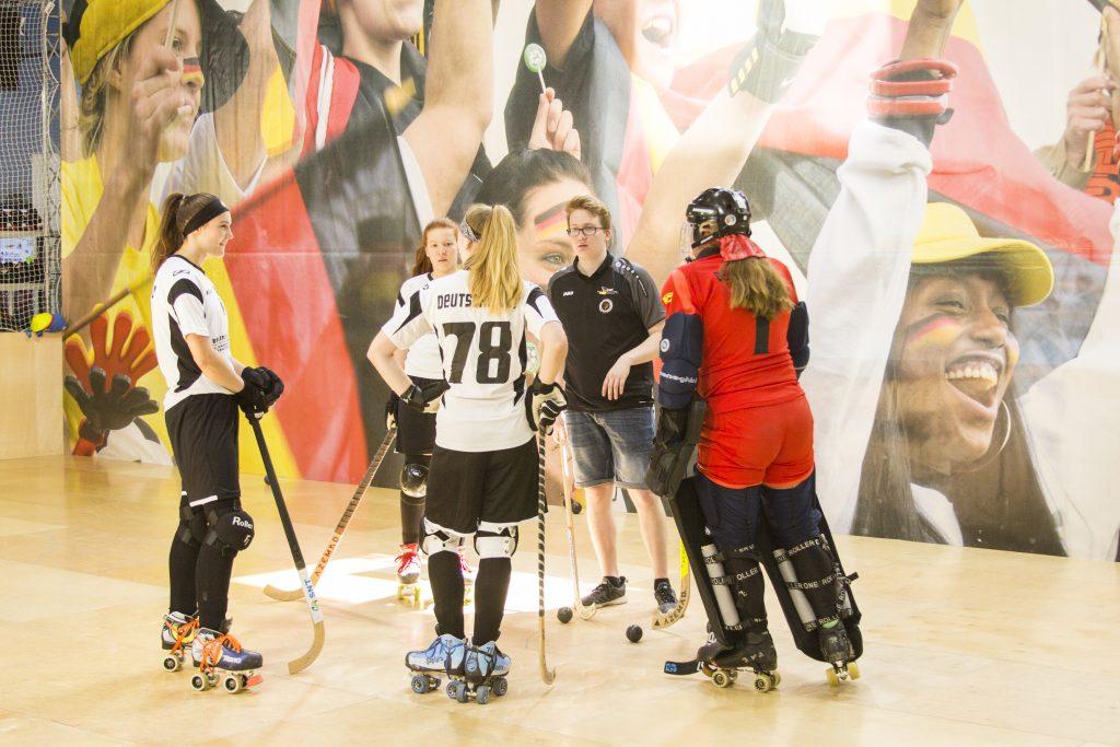 Rollhockey auf der BaSpo