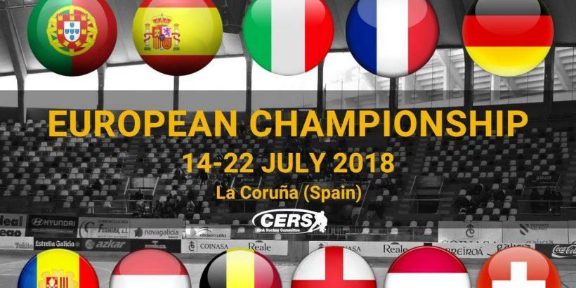 Herren Rollhockey Europameisterschaft 2018