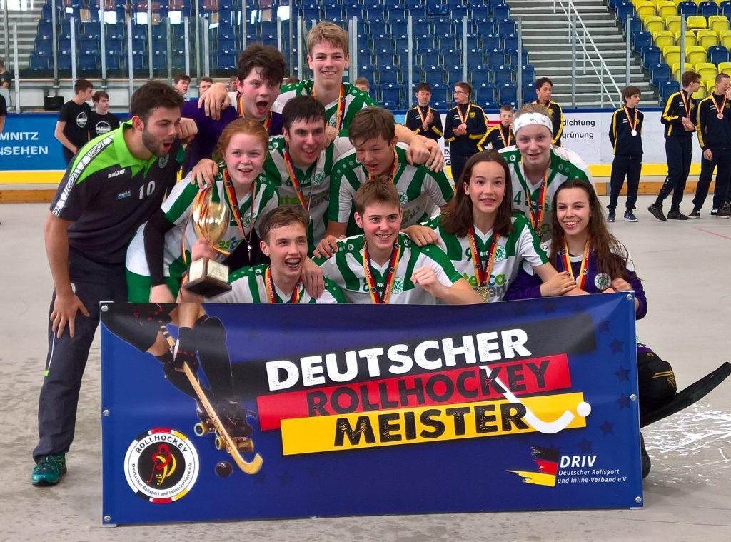 Deutscher Rollhockey U17 Meister 2018