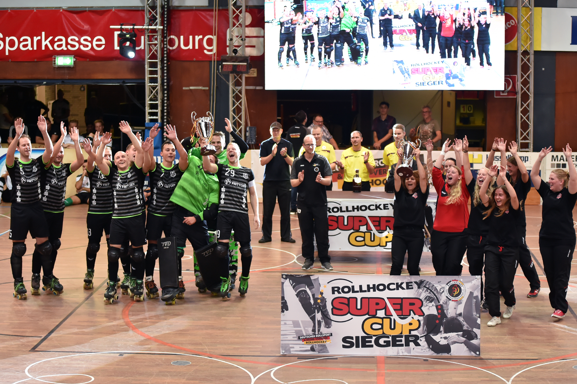 Super Cup Siegerehrung
